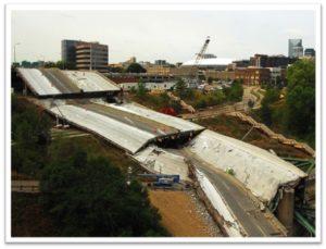 I-35 bridge collapse in Minneapolis, MN,