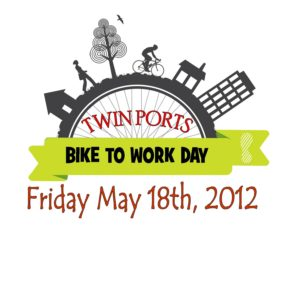 Twin Ports BIke to Work Day 2012 logo