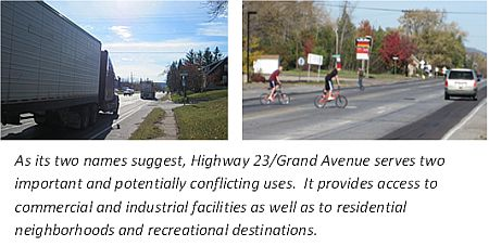 Grand Ave Hwy 23 study plan 2013